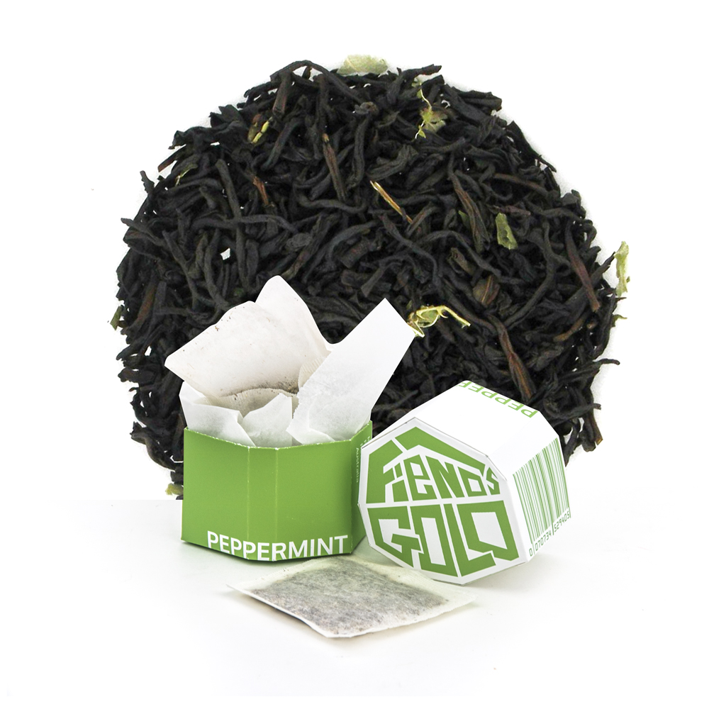 Fiends Gold Branded Tea Collection - Peppermint