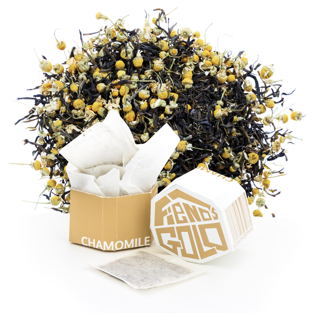 Fiends Gold Branded Tea Collection - Chamomile