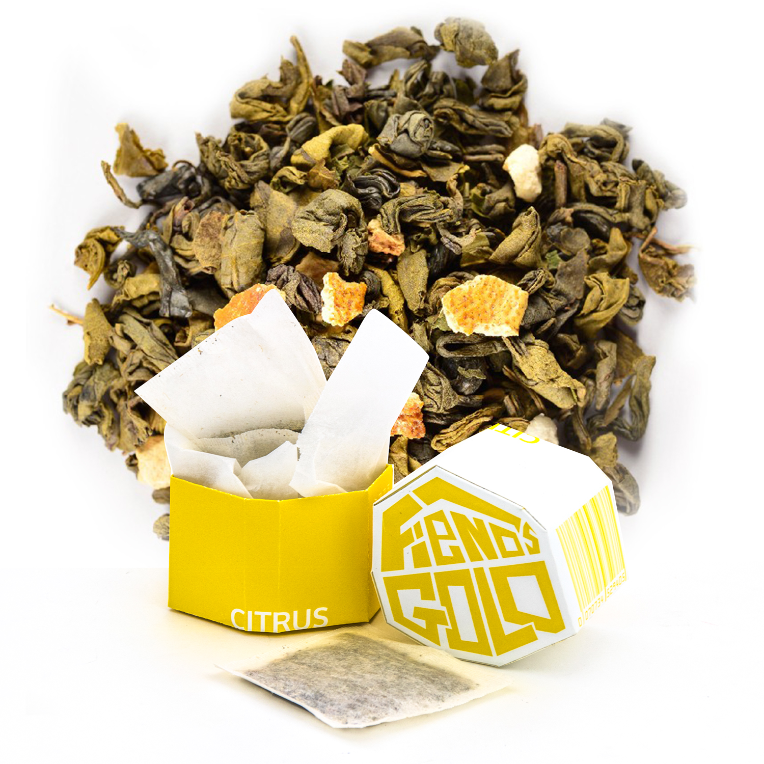 Fiends Gold Branded Tea Collection - Citrus