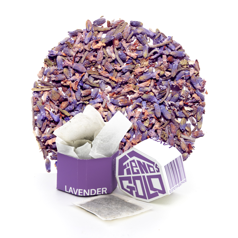 Fiends Gold Branded Tea Collection - Lavender