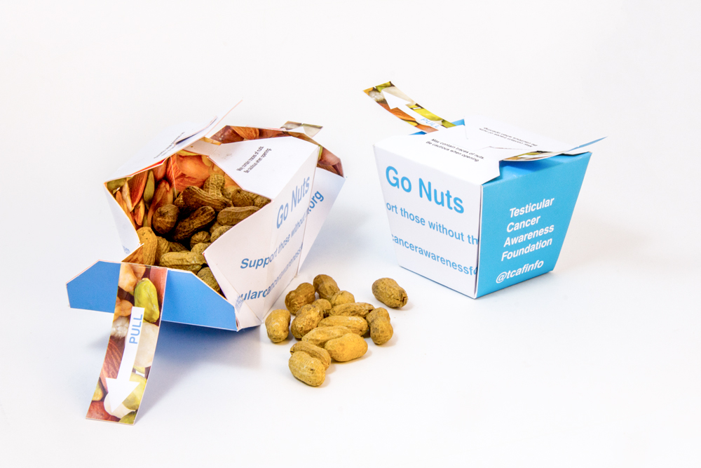 Go Nuts Direct Mail Marketing Open