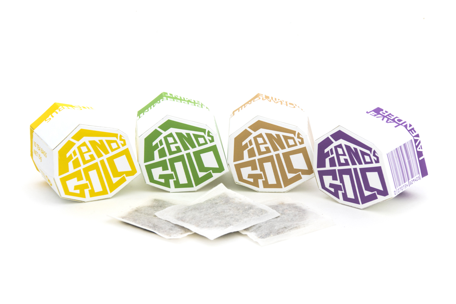 Fiends Gold Branded Tea Collection