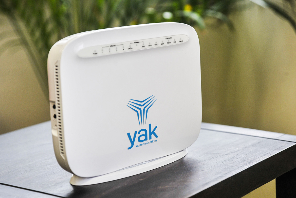 Yak communications situational mockup