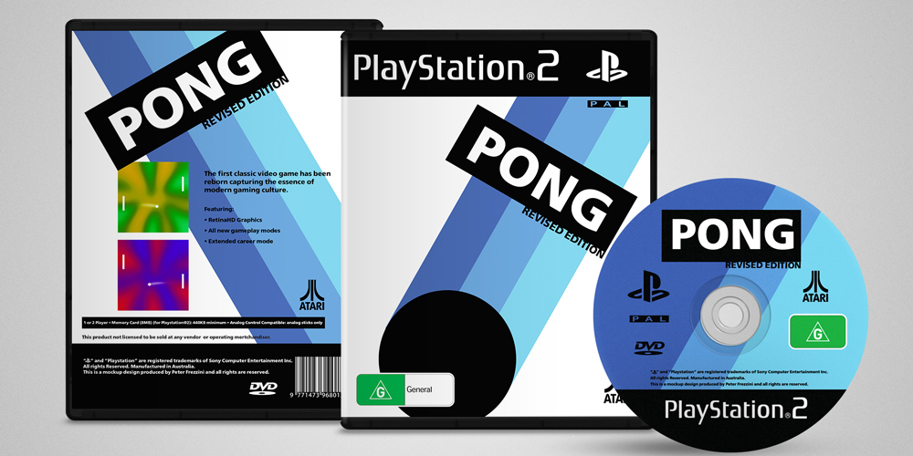 Pong Game Cover Alternative