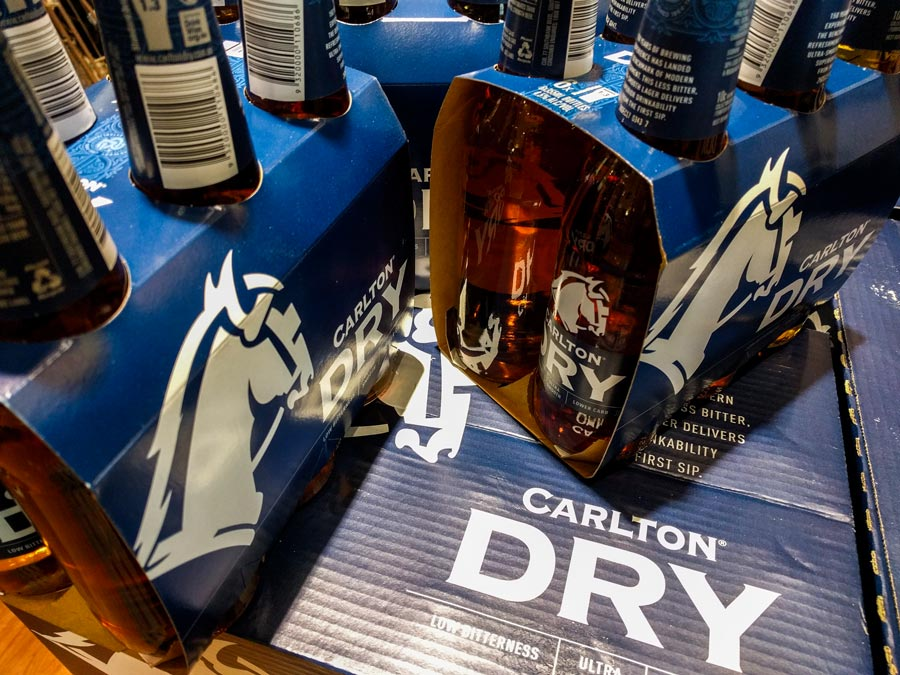 Carlton Dry Refreshed Look