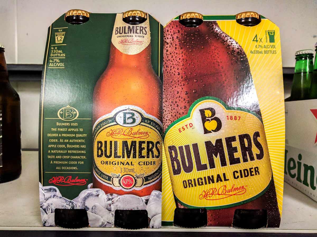 Bulmers Cider 4 Pack