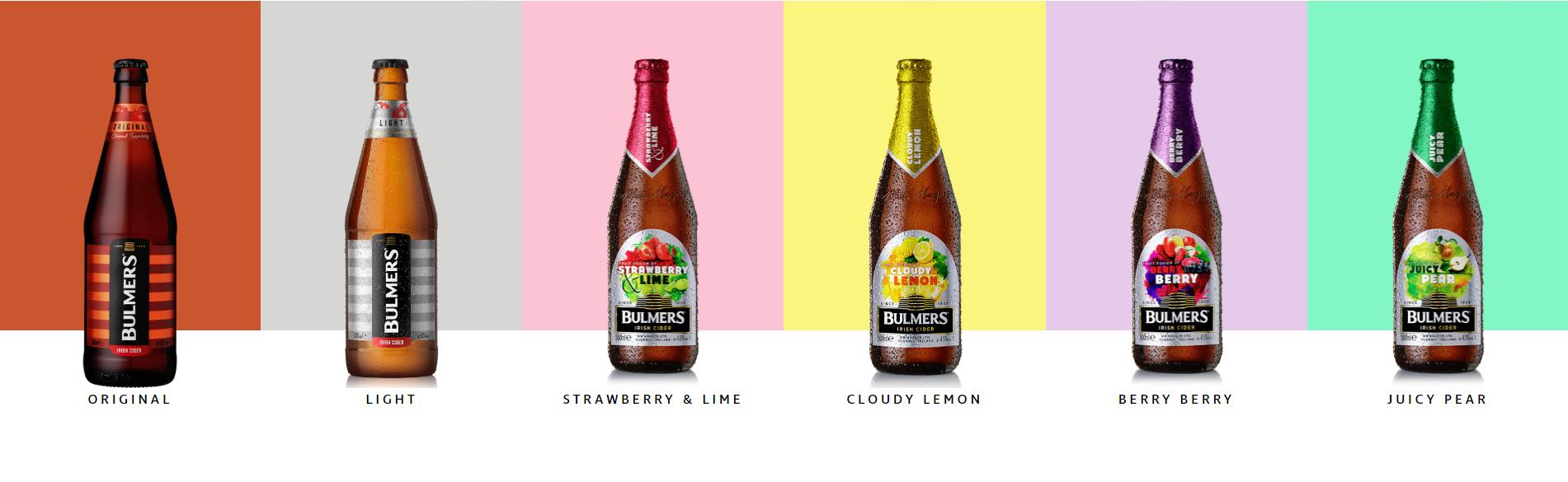 Bulmers Cider Brand Refresh