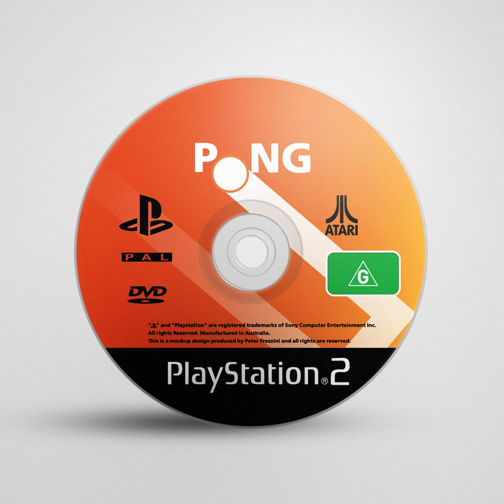 Pong Game Cover Concept